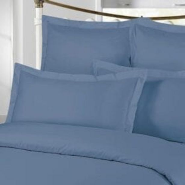 300TC PLAIN PILLOW CASE FRENCHE BLUE offer at R 229