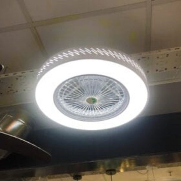 BEDROOM CEILING FAN WITH LIGHT offer at R 949