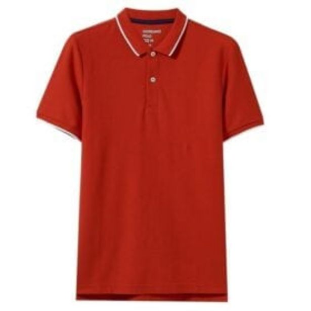 1018222 CTN/LYCRA SOLID TIPPING POLO RD offers at R 329