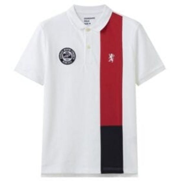 1010322 CTN/LYCRA UNION JACK POLO offers at R 479