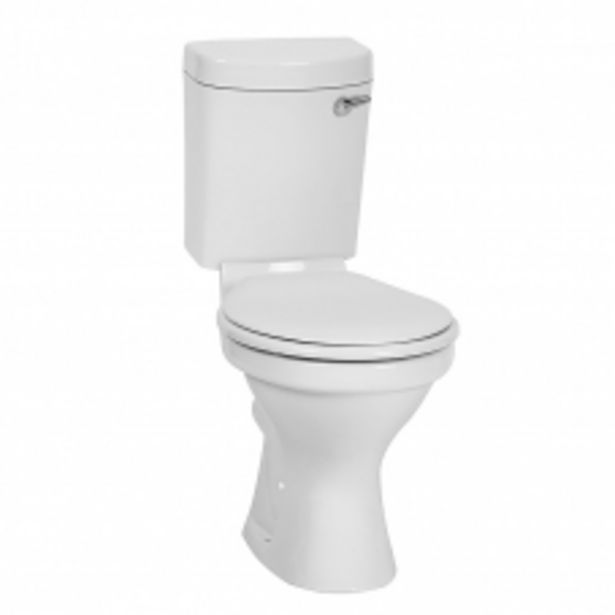 TOILET CLOSE COUPLE MILA FRONT FLUSH WHITE BETTA offers at R 1175