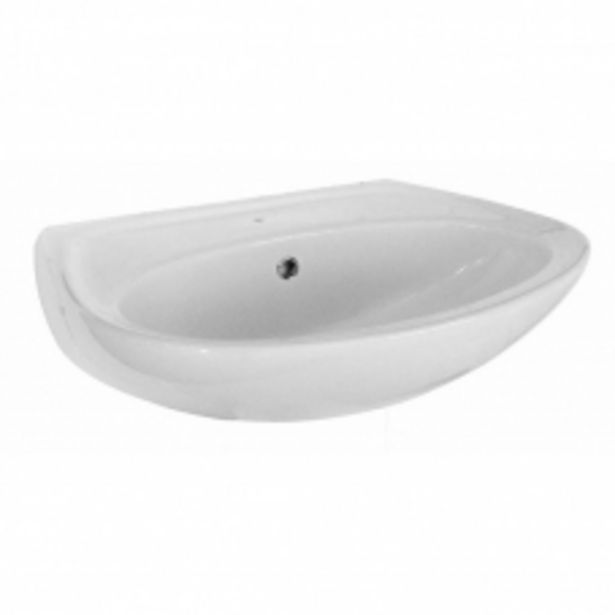 BASIN WALL MOUNT  DELUXE COURIER WHITE BETTA offer at R 375