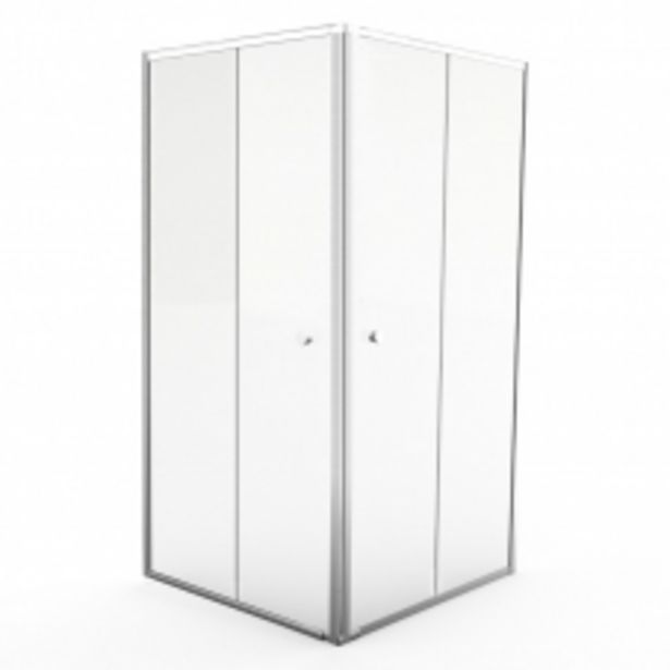 CEP90SC 900*900*1860*6MM PIVOT CORNER ENTRY - SILVER/CLEAR offers at R 5095