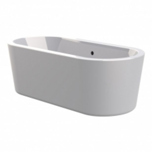 PENZA ONE PIECE FREE STANDING BATH - WHITE 1690*795*600MM offers at R 12995