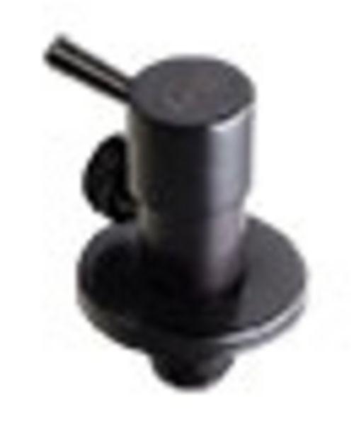 A277/MB ANGLE VALVE (ROUND) - MATT BLACK offers at R 165