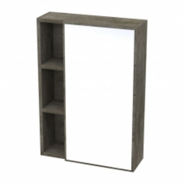 IVY WALL MIRROR UNIT - NATURAL CONCRETE offers at R 1195