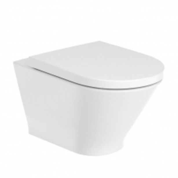 THE GAP ROUND RIMLESS WALL HUNG PAN INCL SC SEAT(A3460NL000) offers at R 4995