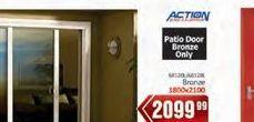 Patio door offer at R 2099,99