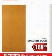 Masonite door offer at R 189,99