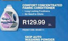 Comfort Fabric Conditioner  offer at R 129,99