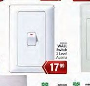 Wall Switch offer at R 17,99