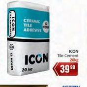 Tile cement offer at R 39,99