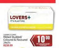 Lovers+ Condoms offer at R 10