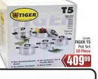 Tiger pot set offer at R 409,99