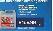 Handy Andy Bleach offer at R 169,99
