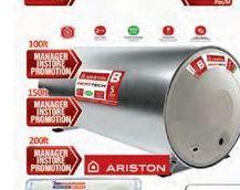 Ariston water tank offer at