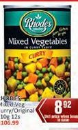 Rhodes Mixed Vegetables offer at R 8,92