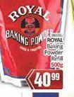 Royal Baking Powder offer at R 40