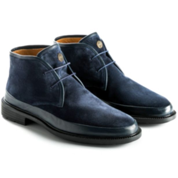 Suede Leather Combo Chukka Boot offer at R 2699