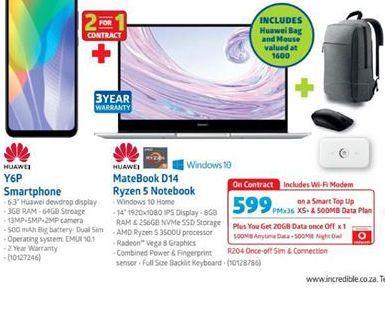 Huawei Bundle offer at R 599