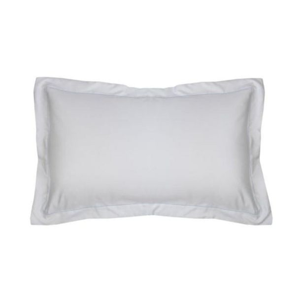 500 Thread Count Sateen Egyptian Cotton Silver Oxford Pillowcase offers at R 135,2