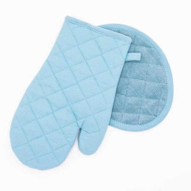 Sky Blue Oven Glove Set offers at R 75