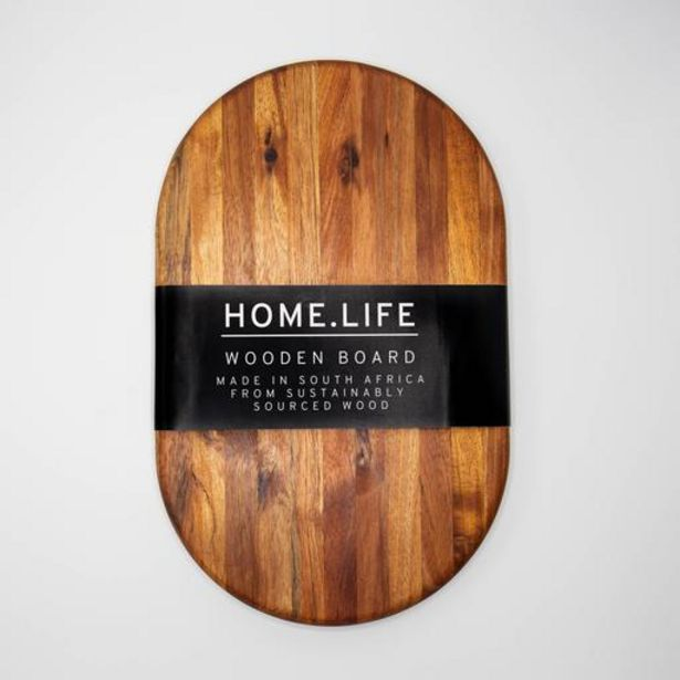 HOME.LIFE Round Chopping Board - medium (40x25cm) offers at R 299