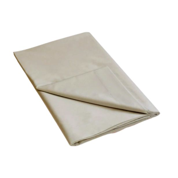 144 Thread Count Polycotton Stone Flat Sheet offers at R 139