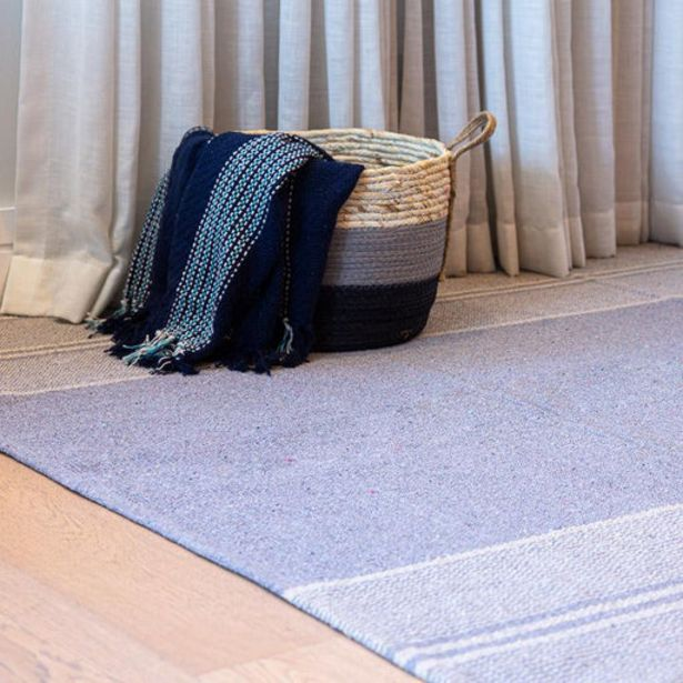 Woven Stripe Rugs - Light Grey offers at R 349