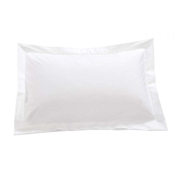 300 Thread Count Egyptian Cotton Percale White Oxford Pillowcase offers at R 123,25