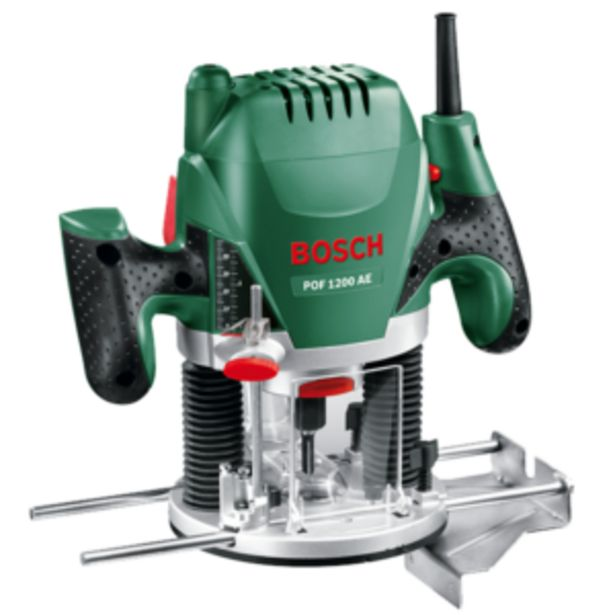 BOSCH PLUNGE ROUTER 1200W offer at R 1399