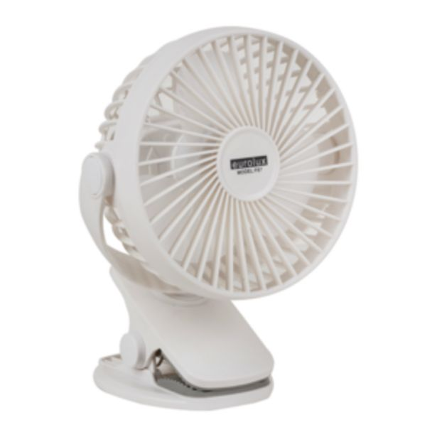 Eurolux Rechargeable Portable Mini Clip-on Fan offers at R 249,95