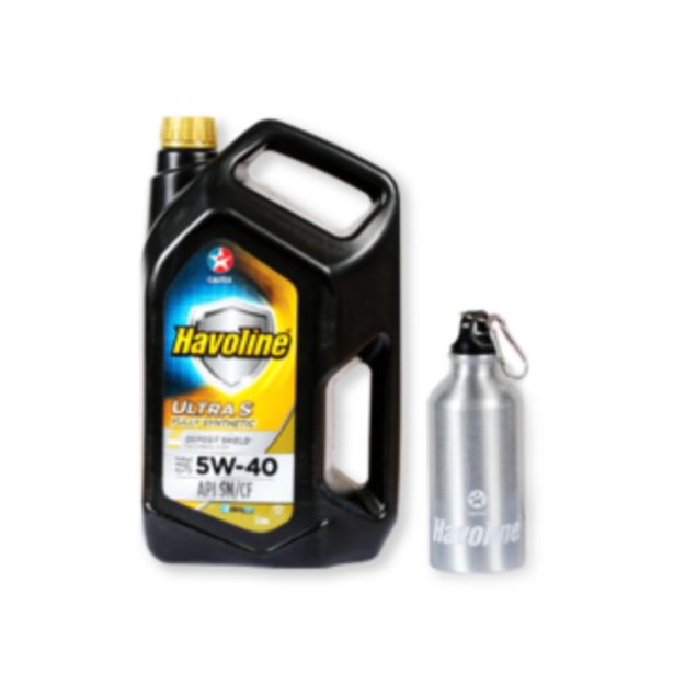 CALTEX HAVOLINE ULTRA SYNTHETIC 5W40 OIL 5L offer at R 549,95