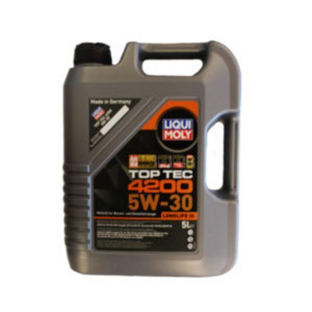 LIQUI MOLY TOP TEC 4200 5W30 5LT offers at R 949,95