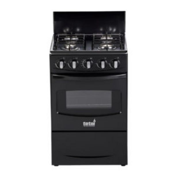 Totai Gas Stove 4 Burner Black offer at R 2999