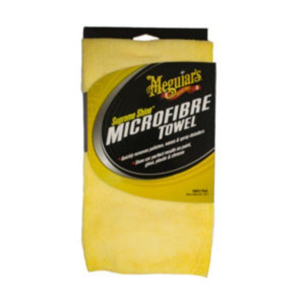 MEGUIARS SUPREME SHINE MICROFIBRE TOWEL offer at R 169,95