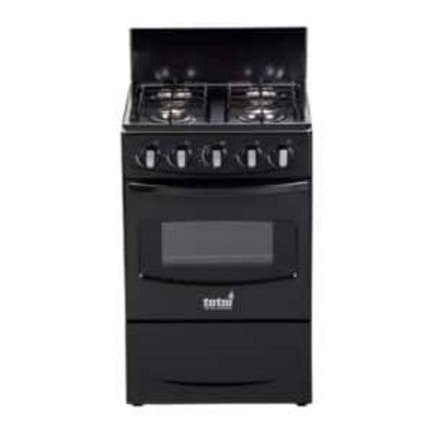 Totai Gas Stove 4 Burner Black offers at R 3549