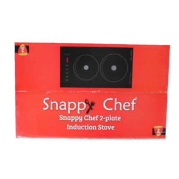SNAPPY CHEF DOUBLE INDUCTION STOVE offers at R 3449