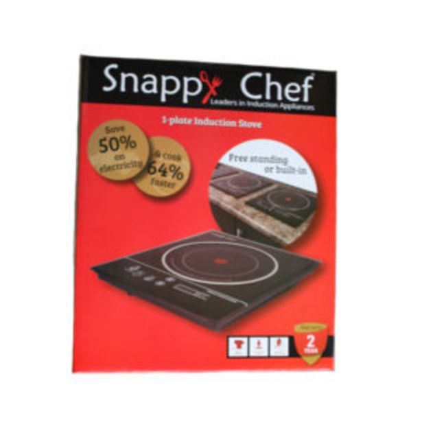 SNAPPY CHEF SINGLE INDUCTION STOVE offers at R 1349