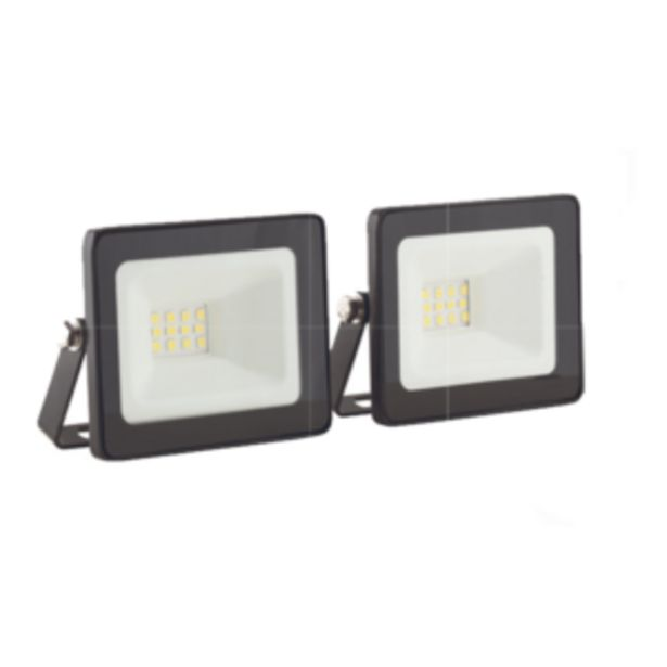 EUROLUX 10W LED FLOODLIGHT TWIN PACK offer at R 99