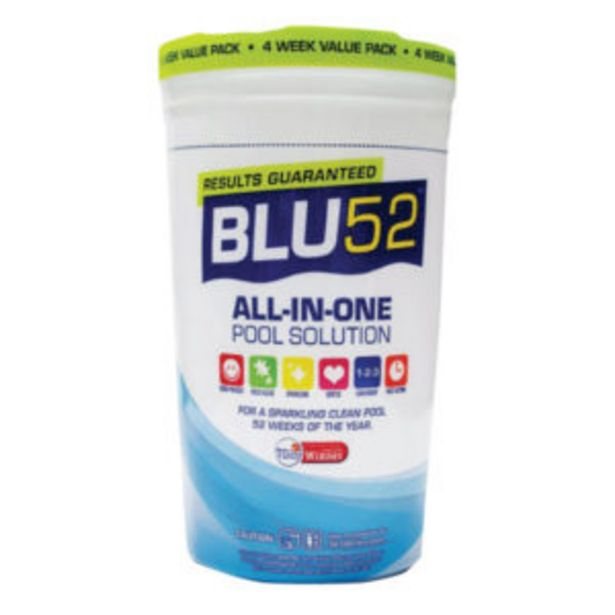 BLU52 ALL-IN-ONE POOL MAINTENANCE 1.2KG offers at R 169,95