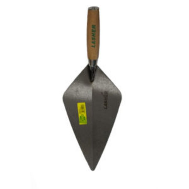 LASHER BRICK TROWEL 300MM offers at R 144,95