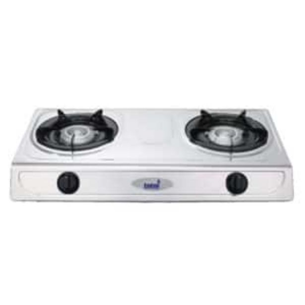 TOTAI 2-PLATE STAINLESS STEEL GAS STOVE offers at R 419,95