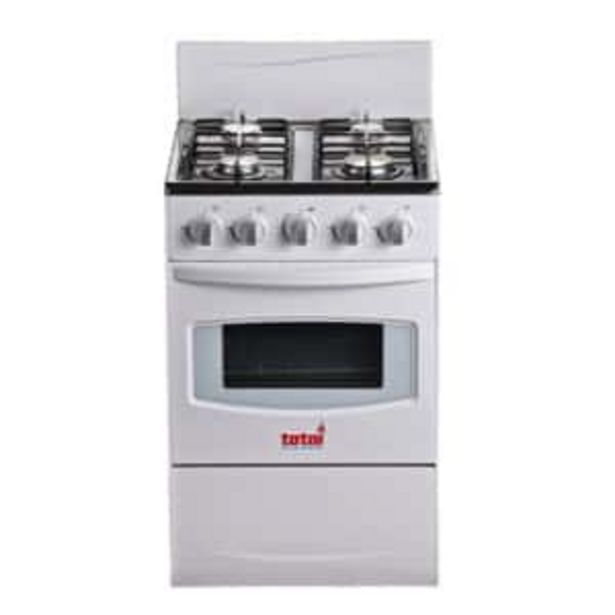 Totai Gas Stove 4 Burner White offers at R 3549