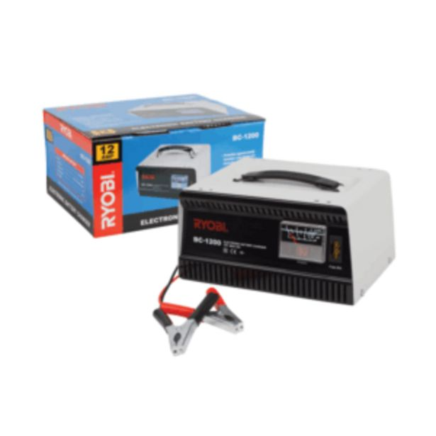 RYOBI BATTERY CHARGER 12A BC-1200 offers at R 899,95