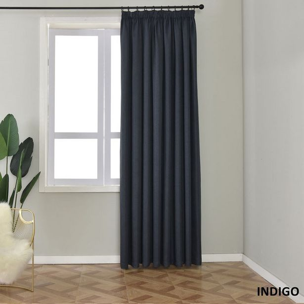 Larissa Taped or Eyelet Self Lined 60% Blockout Curtains offers at R 589