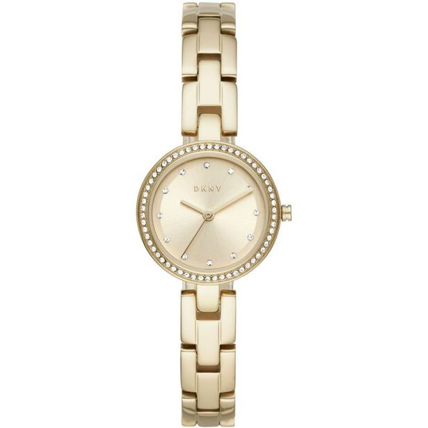 Women's City Link Three-Hand Gold-Tone Stainless Steel Watch offer at R 1699