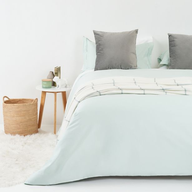 300 Thread Count 100% Egyptian Cotton Satin Stitch Oxford Duvet Cover and Pillowcase Set offers at R 1199