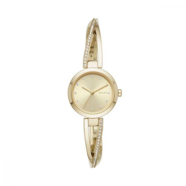 Women's Crosswalk Gold Round Stainless Steel Watch offer at R 1349