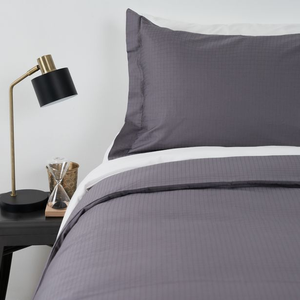 300 Thread Count 100% Egyptian Cotton Oxford Jacquard Duvet Cover (Queen, King & Super King) offers at R 1499